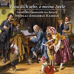 CD-Cover Freu dich sehr, oh meine Seele · Nicolai-Ensemble Hameln